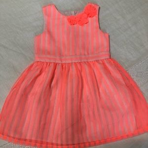 NWOT Cat & Jack - Neon Sleeveless Dress